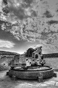 Fortifications Prints - Ft. Moultrie Canon  Print by Drew Castelhano