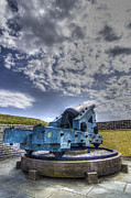 Bastion Framed Prints - Ft. Moultrie Canon II Framed Print by Drew Castelhano