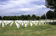 Ft Smith Prints - Ft Smith National Cemetery Print by Leroy McLaughlin