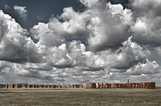 Historical Buildings Prints - Ft. Union New Mexico Print by Alan Toepfer