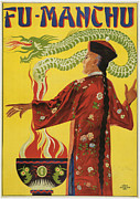 Tricks Posters - Fu-Manchu Poster by Unknown