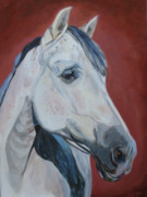 Equine Artist Prints - Fuego Print by Anne West