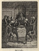 Racism Prints - Fugitive Slave Henry Bibb Appears Print by Everett