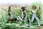 Runaway Slaves Posters - Fugitive Slave Law Poster by Photo Researchers
