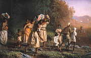 Emancipation Metal Prints - Fugitive Slaves, 1867 Metal Print by Granger