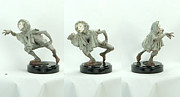 Celebrities Sculpture Originals - Fuite de Temps by Richard MacDonald