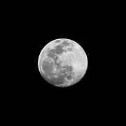 Space Exploration Photos - Full Moon by CP Cheah