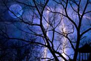 Full Moon Lighting Print by Randy Steele