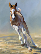 Filly Paintings - Full of Potential by Alecia Underhill