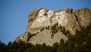 South Dakota Tourism Photos - Full view Rushmore by Mike Oistad