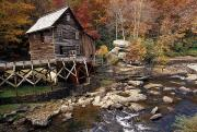 Grist Mills Prints - Fully Operational Grist Mill Sells Print by Raymond Gehman
