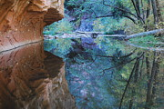 Oak Creek Prints - Fully Reflected Print by Heather Kirk