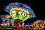 Night Prints - Fun At The Fair Print by Susan Candelario