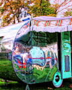 Airstream Prints - Fun House Print by William Dey
