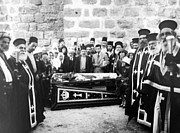 Funeral Photos - Funeral at Nativity Church in Bethlehem by Munir Alawi