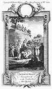 18th Century Prints - FUNERAL PYRE, 18th CENTURY Print by Granger