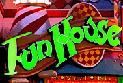 Amusements Photo Prints - FunHouse Print by Colleen Kammerer