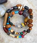 Handcrafted Jewelry - Funky bracelet by Angie DElia