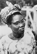 Activists Framed Prints - Funmilayo Ransome-kuti 1900-1978 Framed Print by Everett