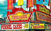 Funnel Clouds Prints - Funnel Cakes Carnival Food Vendor Print by Eye Shutter To Think Prints