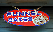 Local Food Posters - Funnel Cakes Poster by Skip Willits