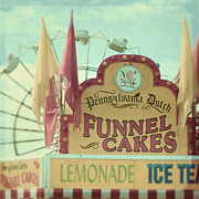Funnel Prints - Funnel cakes Print by Sylvia Cook
