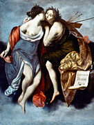 Muse Paintings - FURINI: MUSES, 17th CENTURY by Granger