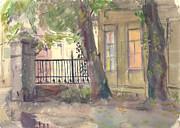 Furmanny Pereulok Print by Leonid Petrushin