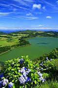 Furnas Prints - Furnas Lake Print by Gaspar Avila