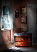Treasure Box Metal Prints - Furniture - Bedroom - Family Secrets Metal Print by Mike Savad