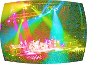 Dead Heads Prints - Furthur Channel Print by Susan Carella