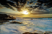 Maroubra Art - Fury at Maroubra by Mark Lucey