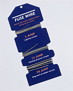 Fifteen Prints - Fuse Wire Print by Sheila Terry