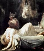 Artflakes Framed Prints - Fuseli: Nightmare, 1781 Framed Print by Granger