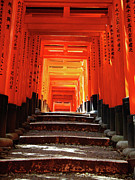 Shrine Photo Originals - Fushimi Inari Shrine pic.1 by Oleg Volkov