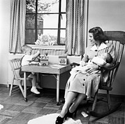 First Ladies Prints - Future First Lady In 1952.  Betty Ford Print by Everett