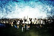 Future Skyline Print by Andrea Barbieri