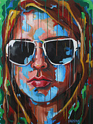 Intense Paintings - Future So Bright by Julia Pappas