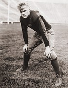 Youth Sports Prints - Future Us President Gerald Ford Played Print by Everett