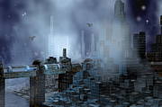 Carol and Mike Werner - Futuristic City of...