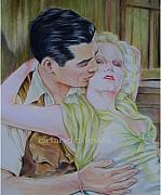Harlow Originals - Gable and Harlow by Orlando  Lewis