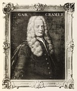 Gabriel Photo Posters - Gabriel Cramer, Swiss Mathematician Poster by Middle Temple Library