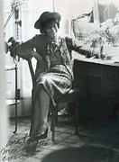 Dressing Room Metal Prints - Gabrielle Coco Chanel, C. Mid 1960s Metal Print by Everett