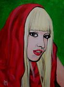 Gaga Hood Print by Pete Maier