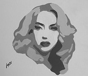 Lady Gaga Painting Prints - GaGa Time Painting Print by Austin Puia