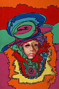 Pop Art Prints Painting Originals - Gaga to the Max by Stapler-Kozek