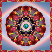 Sacred Geometry Posters - Gaian Arc Poster by Bell And Todd