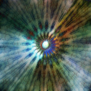 Free Energy Digital Art - Galactic Central Light - A by Linda Cornelius