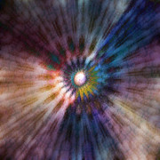 Free Energy Digital Art - Galactic Central Light - B by Linda Cornelius