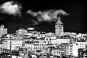 School Houses Photos - Galata Tower I by John Rizzuto